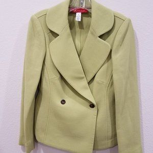 Anne Klein vintage nice lime color blazer